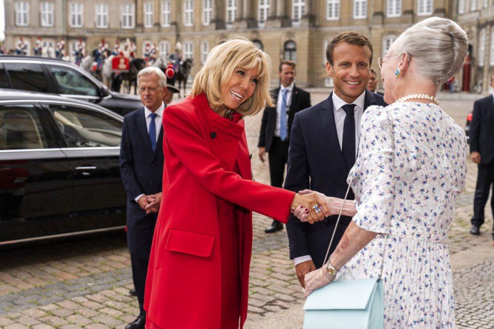Statsbesøg fra Frankrig, Dronning Margrethe
