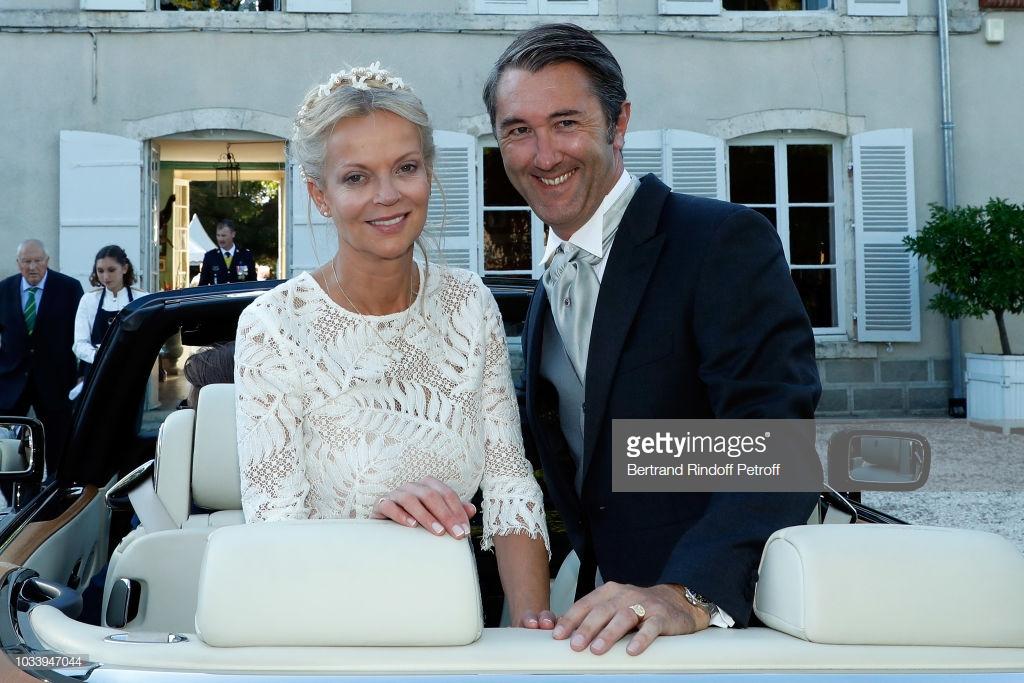 Wedding Of Helene Of Yugoslavia And Stanislas Fougeron In Tillay le Peneu