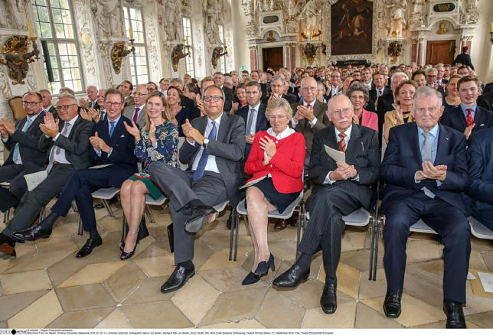200 Jahre Erste Badische Verfassung - Festakt auf Schloss Salem