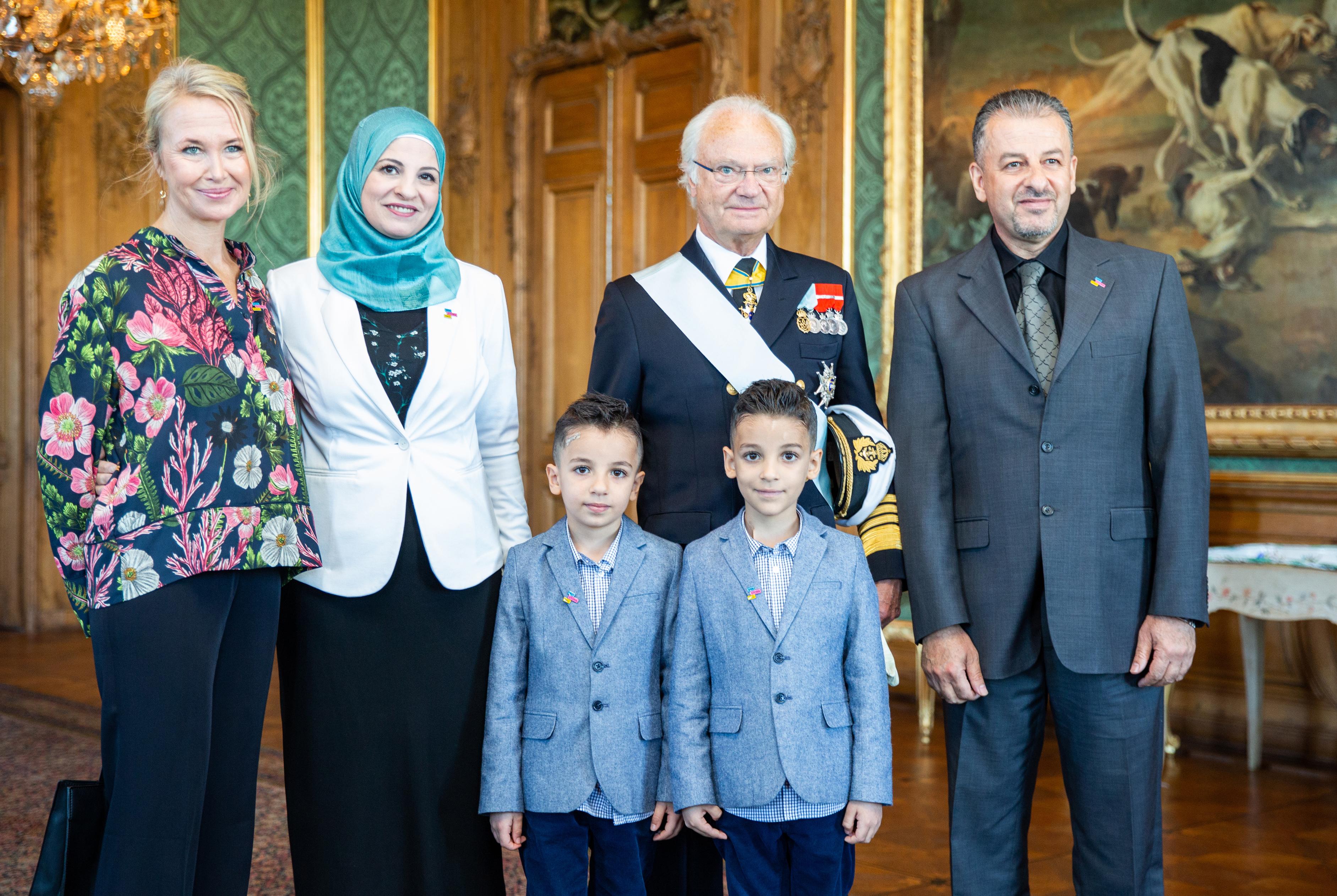 Torsdagen den 13 september 2018 tog Kungen emot 7-årige Akram och hans familj på Kungliga slottet. Akram har cancerformen leukemi och fick via stiftelsen Min Stora Dag möjlighet att träffa Kungen på slottet. Under sin sjukhusvistelse har Akram talat