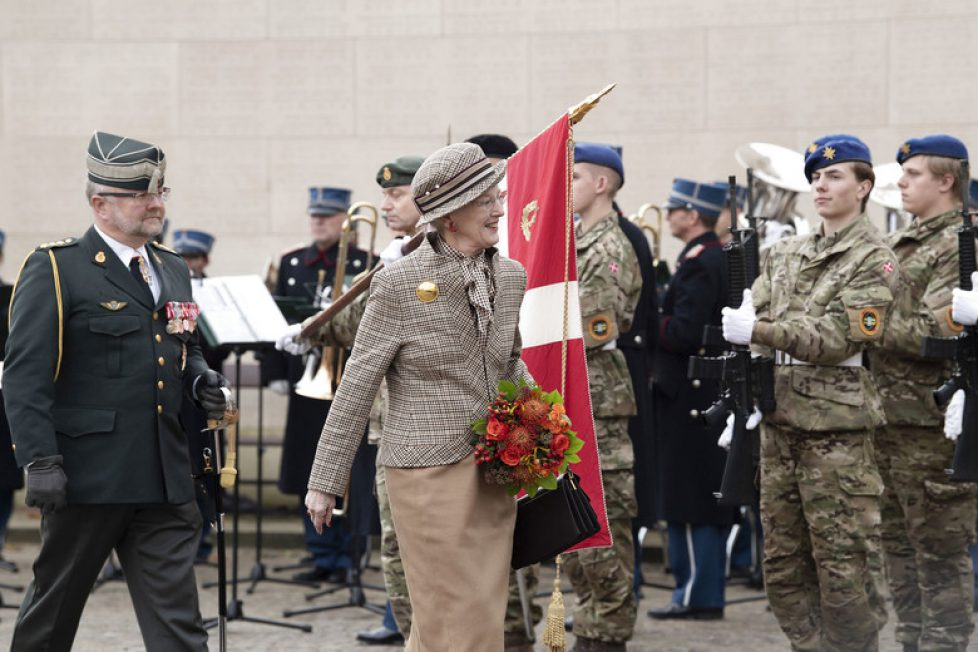 DENMARK: Queen Margrethe participates in the marking of the 100th anniversary of the end of World War I.