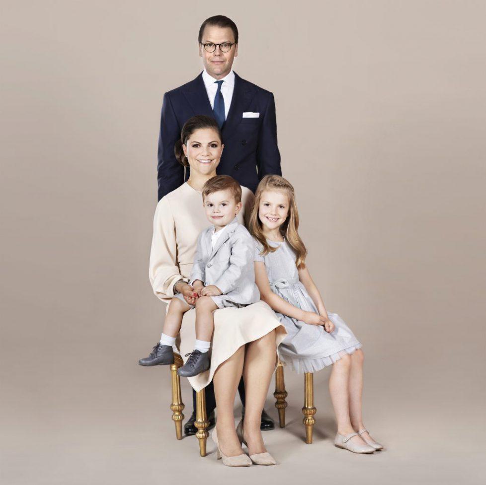 H.K.H. Kronprinsessan Victoria / HRH Crown Princess Victoria / H.K.H. Prins Daniel / HRH Prince Daniel / H.K.H. Prinsessan Estelle / HRH Princess Estelle / H.K.H. Prins Oscar / HRH Prince Oscar