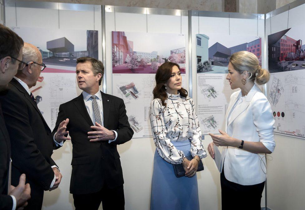 Kronprinsparret deltager i fejringen af 100-året for Letlands selvstændighed. , Kronprins Frederik, Kronprinsesse Mary, Kronprinsparret