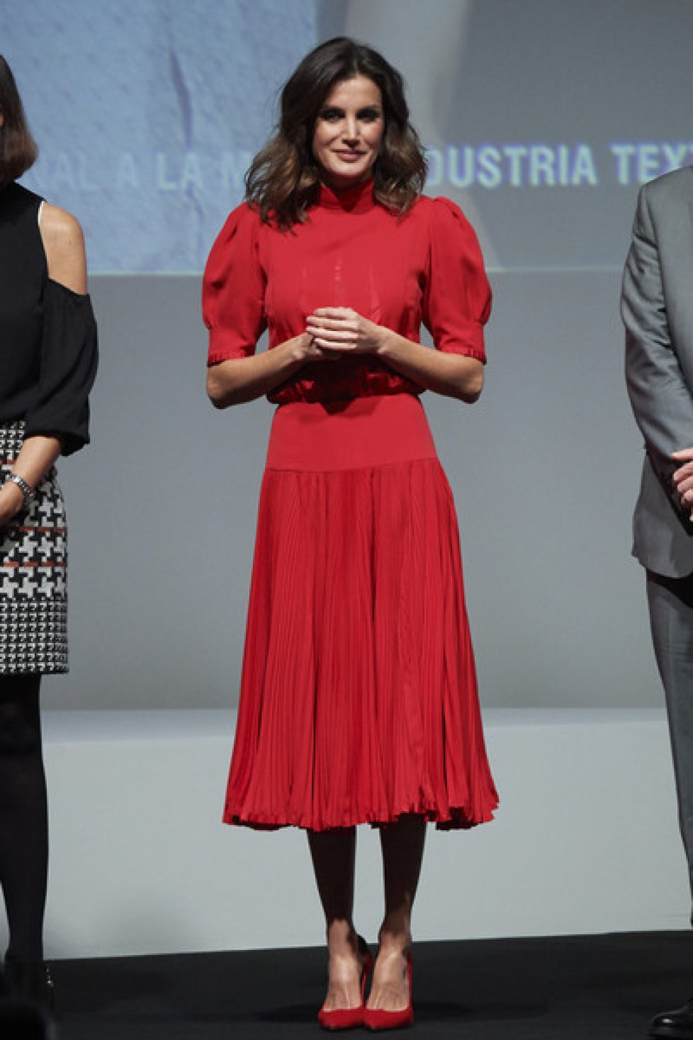 Queen+Letizia+Spain+Attends+National+Fashion+5phw3aMg1Eol