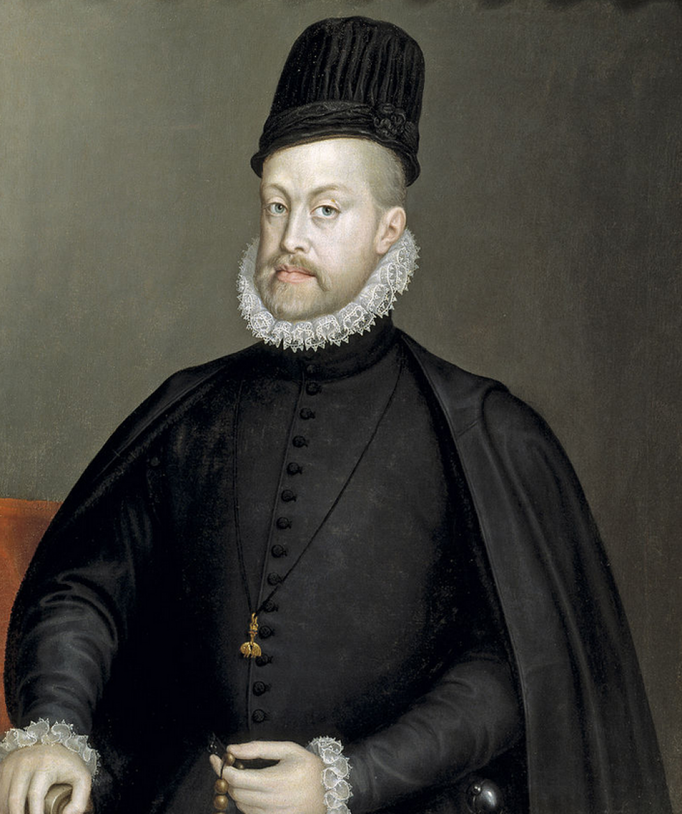 1 - Philippe II par Sofonisba Anguissola