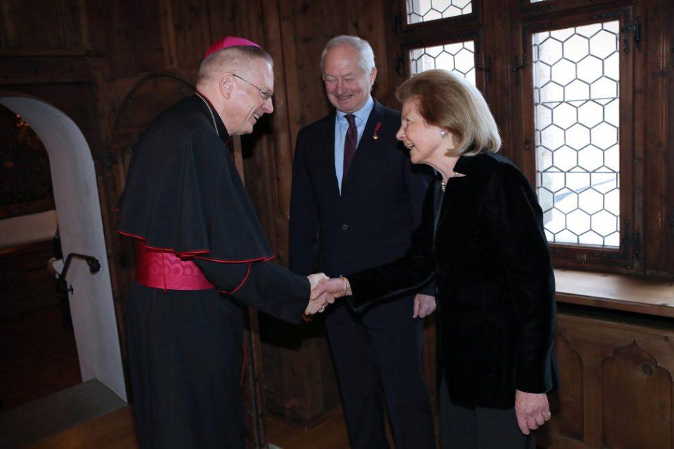 Neujahrsempfang 2019 der Fürstlichen Familie auf Schloss Vaduz