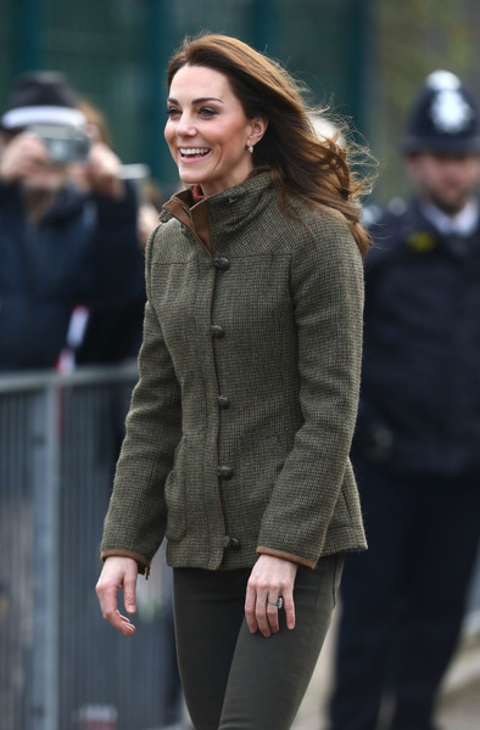 Duchess+Cambridge+Visits+Islington+Community+uno3yshr6qJl