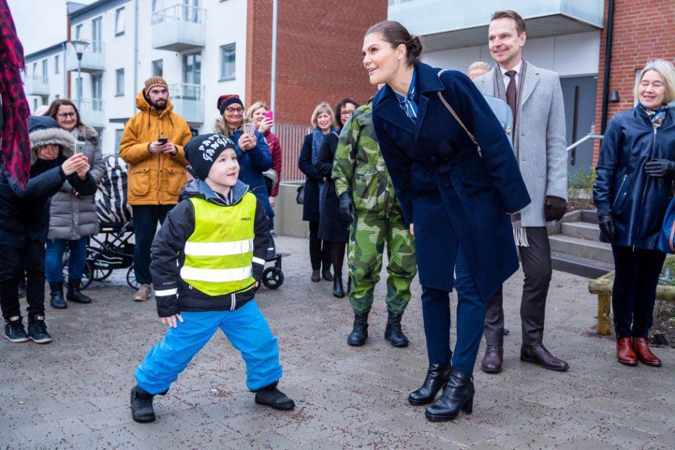 Crown Princess Victoria in Helsingborg