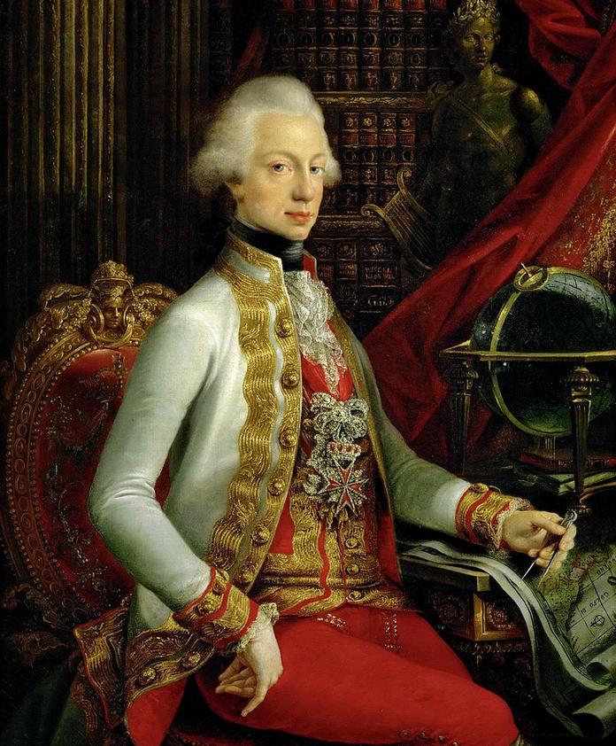 1 - Ferdinand III de Toscane par Joseph Dorffmeister