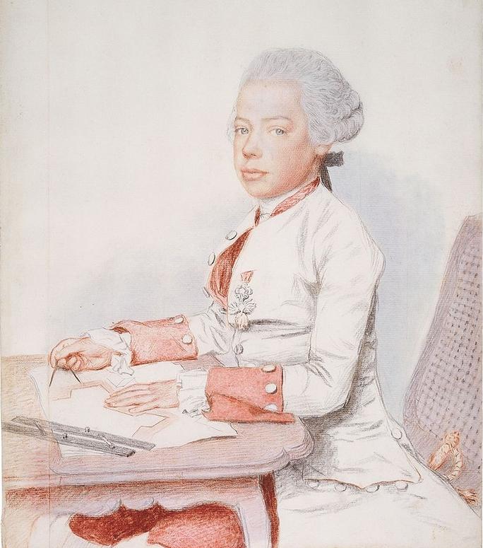 1 - Léopold par Jean-Étienne Liotard en 1762