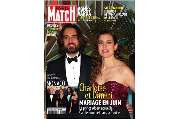 Le magazine \u201cParis Match\u201d annonce le mariage de Charlotte Casiraghi et Dimitri  Rassam pour ce mois de juin. Maintes fois évoqué, le mariage de la fille de
