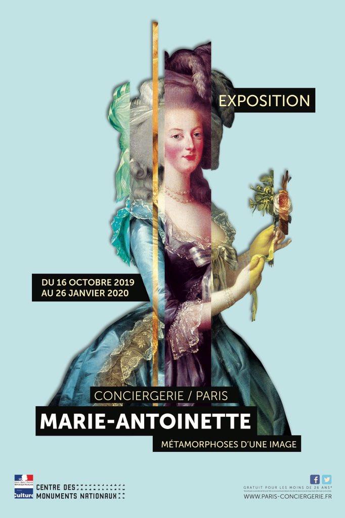 Exposition à la Conciergerie : Marie-Antoinette, métamorphoses d'une image  D6brVXBWwAAS3Qx