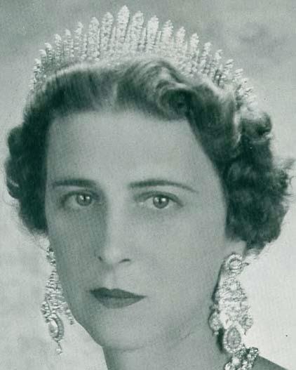 Fringe Tiara () Princess Marina 2