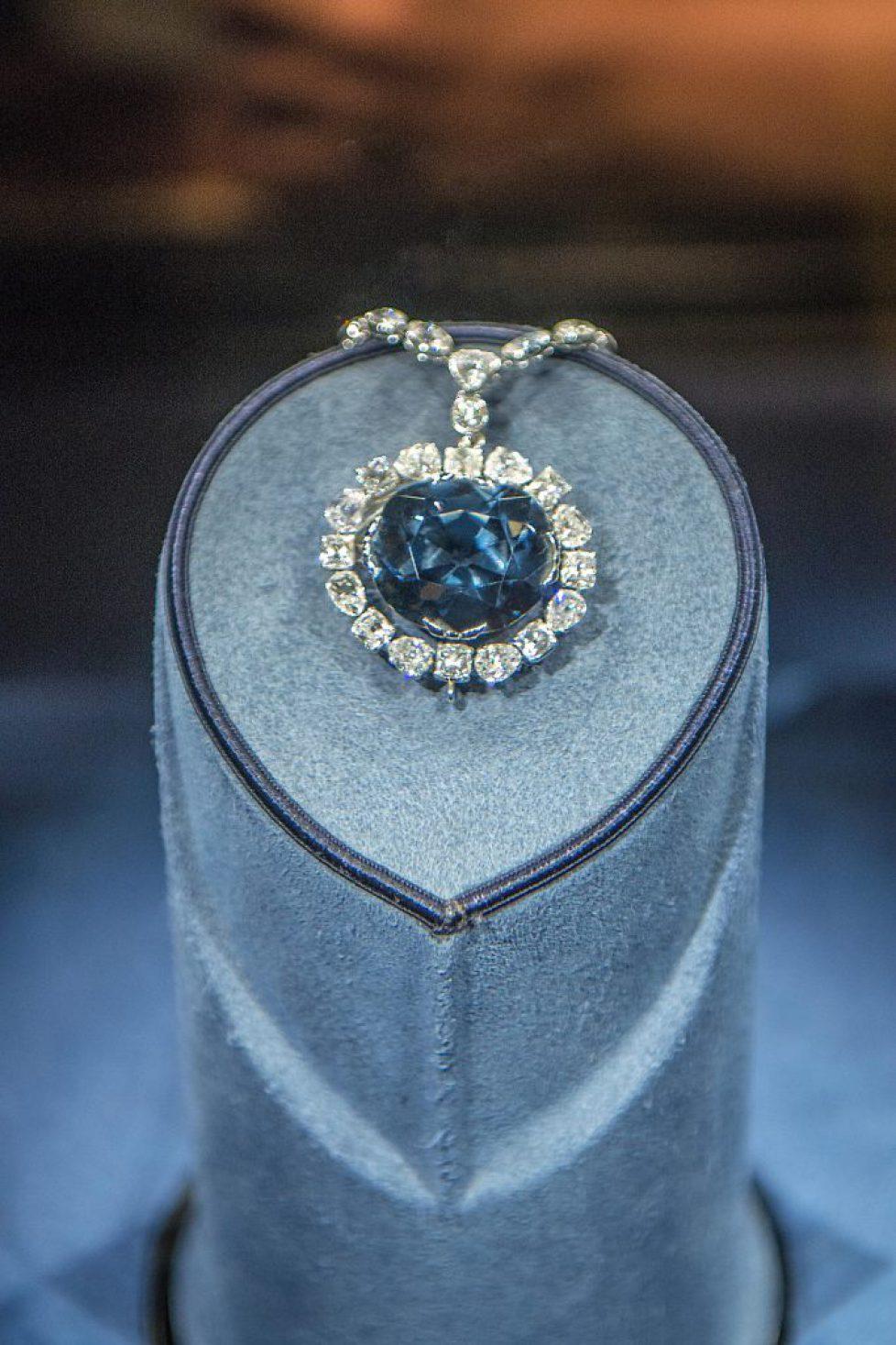 Hope Diamond, Natural History Museum, Washington, DC, USA (Editorial Usage Only)