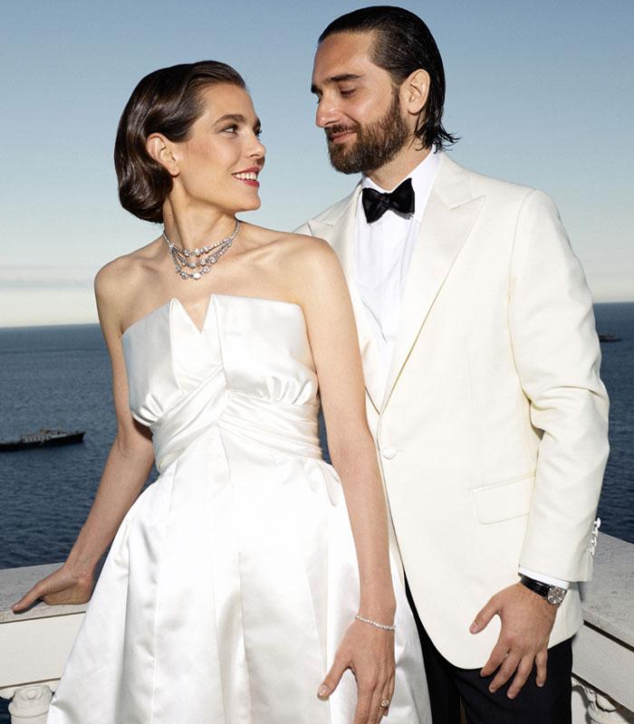 C\u0027est à La Vigie qui fut autrefois habitée par Karl Lagerfeld qu\u0027a eu lieu  la soirée de mariage de Charlotte Casiraghi et Dimitri Rassam.