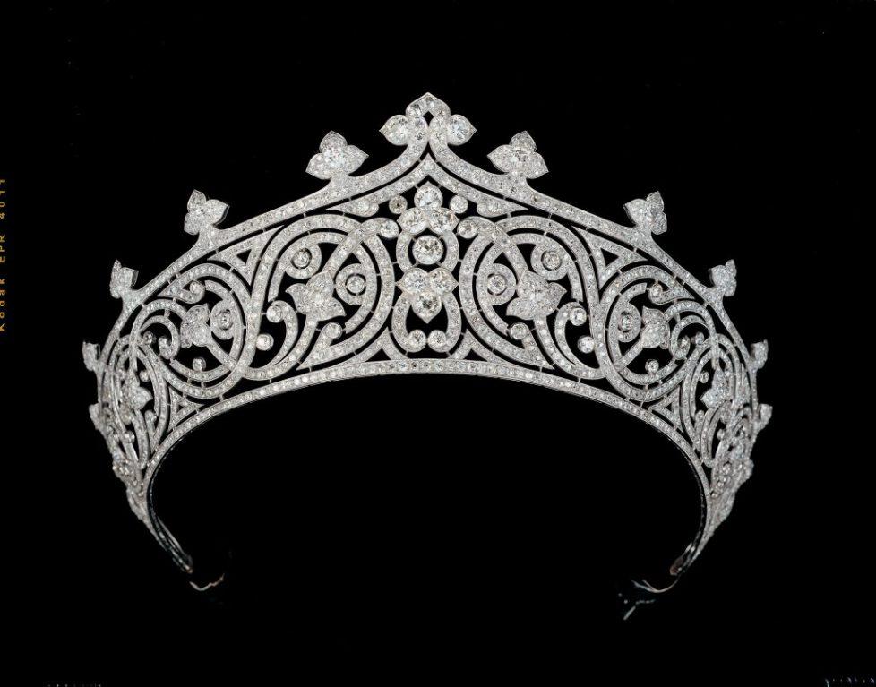 Diadème de style indien de Lady Mountbatten