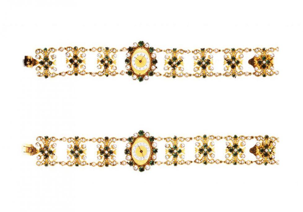 Les bracelets montres de la princesse Auguste-Amélie