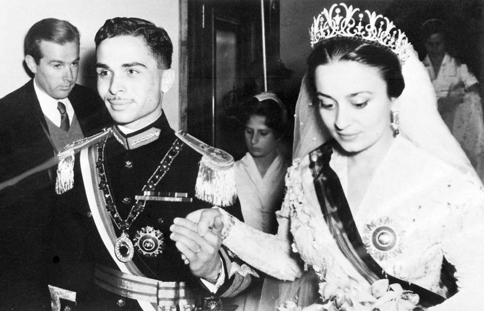 King-Hussein-Princess-Dina-Bride-Princess-Dina-daughter