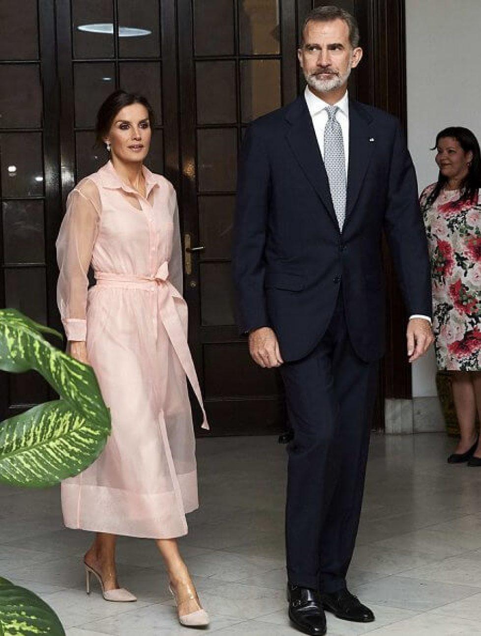 Queen-Letizia-wore-Maje-dress-4