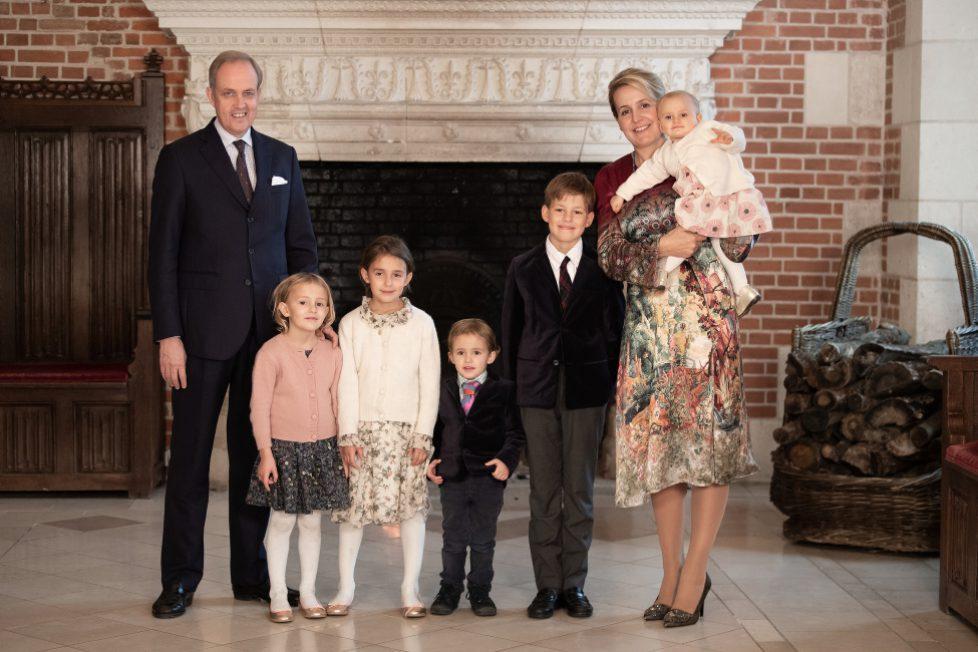 Photo session du Prince Gaston d'Orléans pour son 10 ème anniversaire