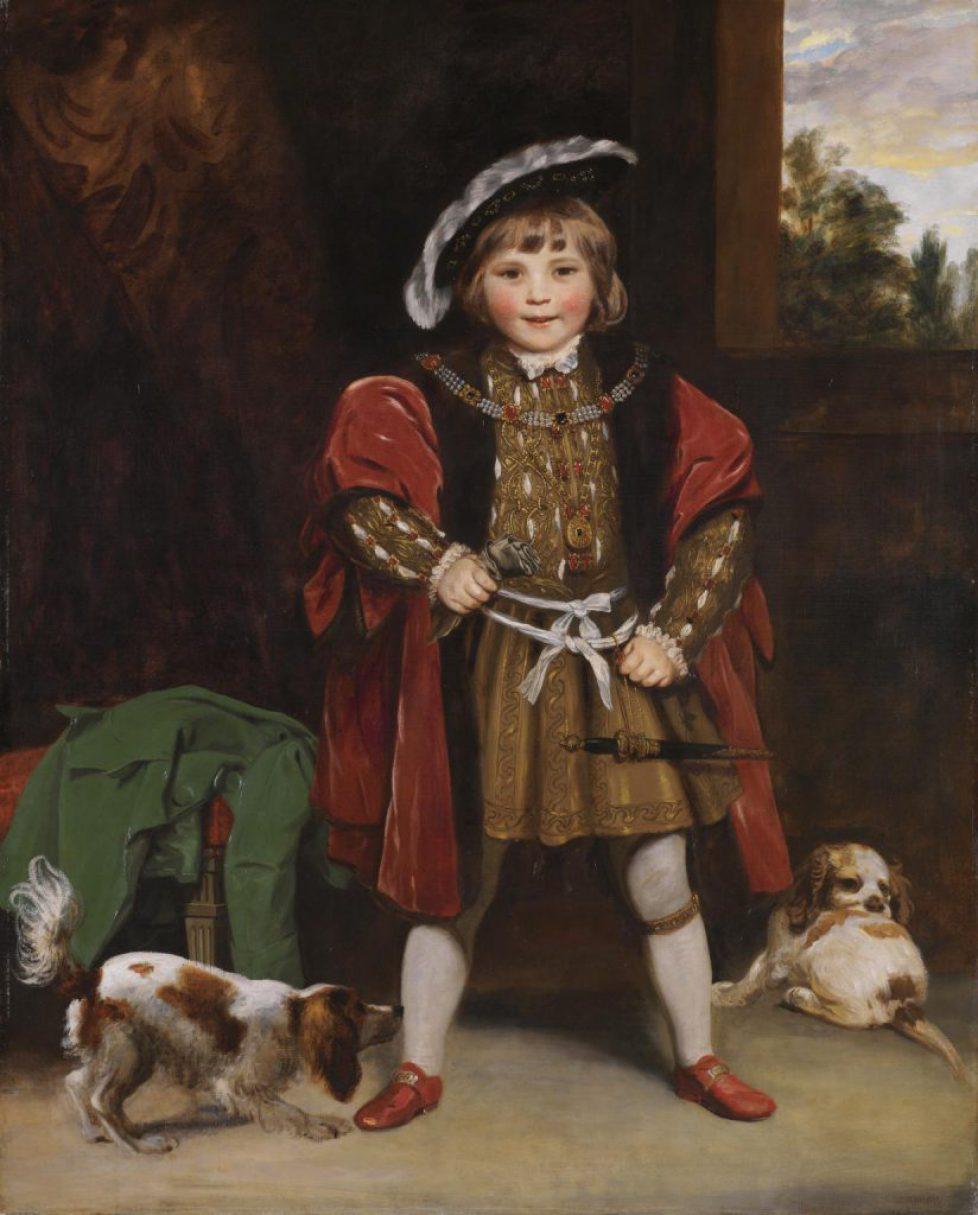 Master Crewe as Henry VIII c.1775 by Sir Joshua Reynolds 1723-1792