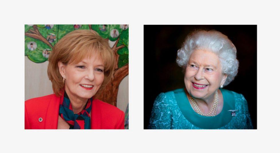 Majestatea-Sa-Regina-Elisabeta-II-Majestatea-Sa-Margareta-Custodele-Coroanei