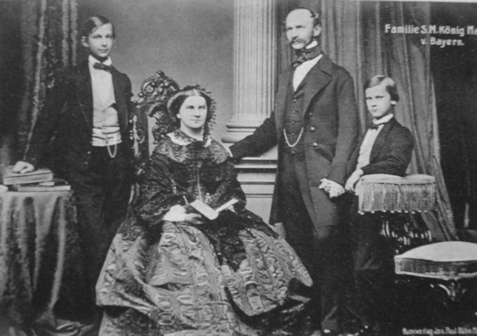 Maximilian_II_of_Bavaria_with_his_family