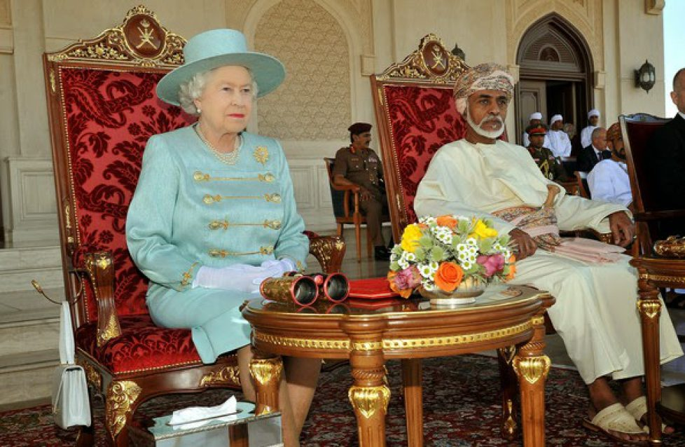 Queen+Elizabeth+II+Majesty+Sultan+Qaboos+bin+LgKwX6mHiQ5l