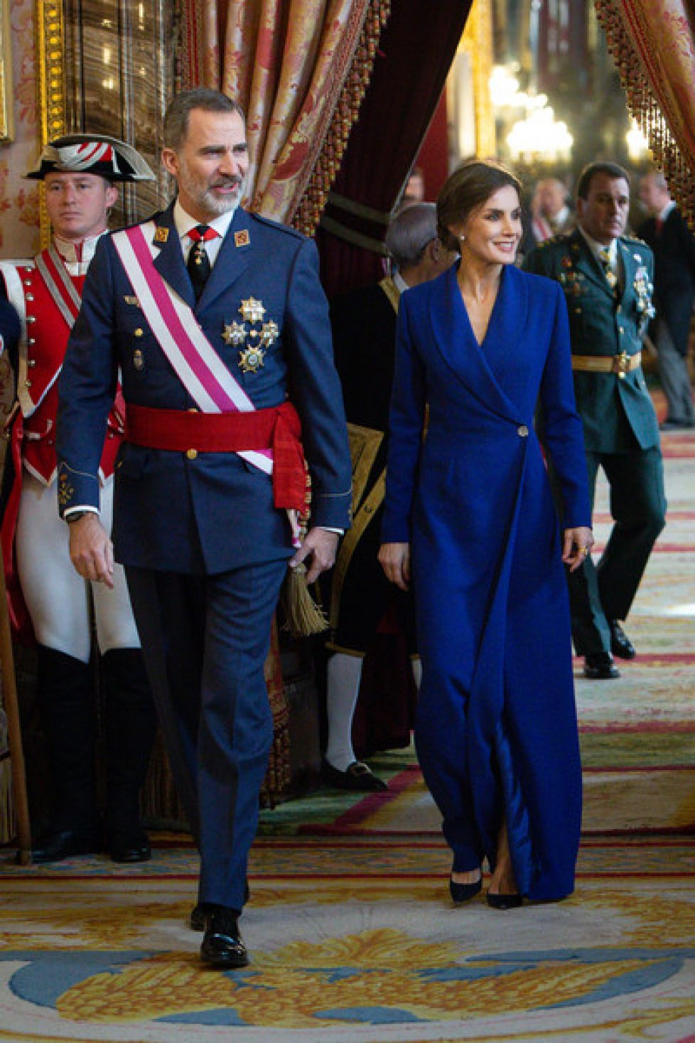 Spanish+Royals+Celebrate+New+Year+Military+3N2YgmYjr7Rl
