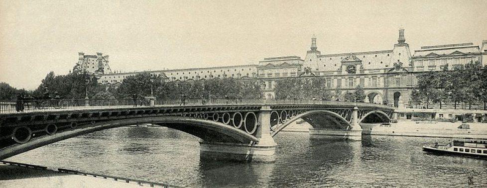 Pont_du_Carrousel en 1900