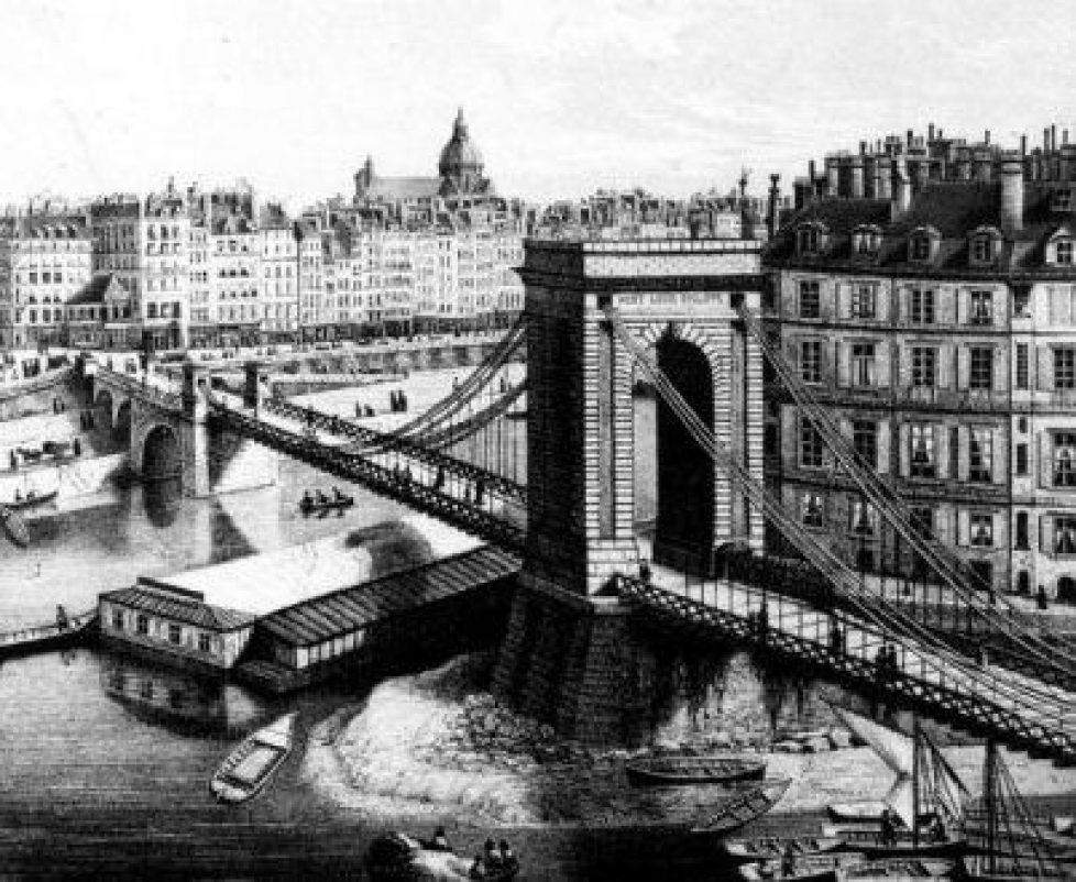 pont Louis Philippe suspendu