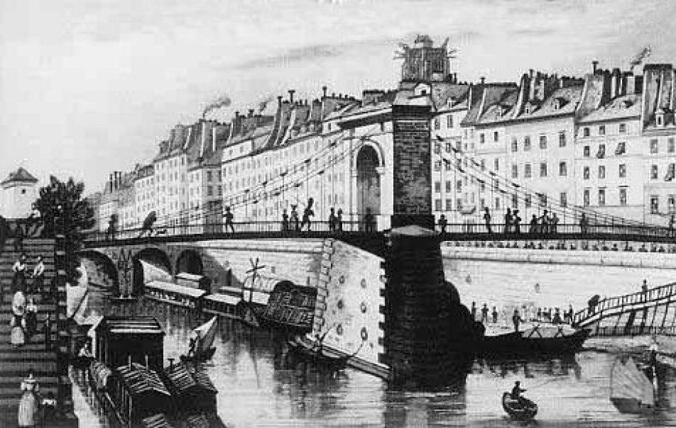 pont d' arcole ancien