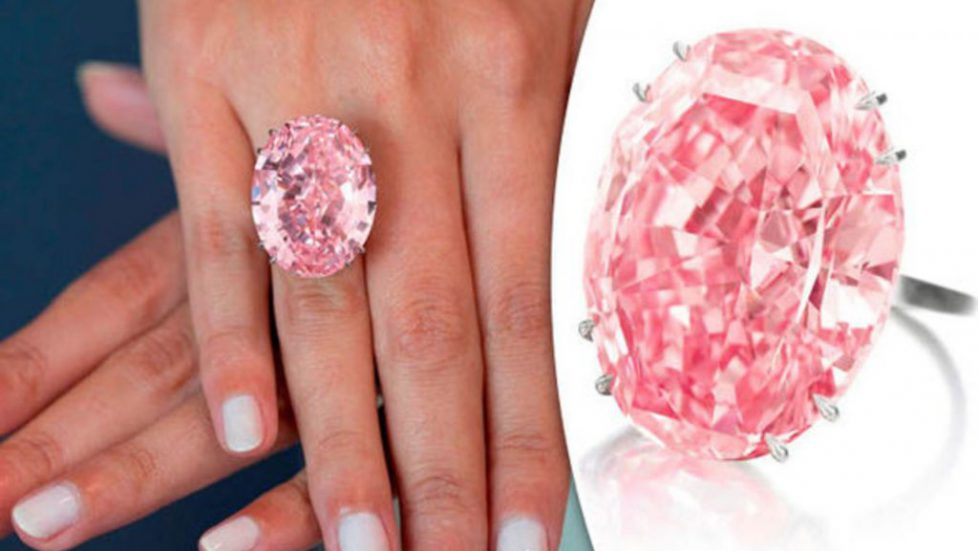 diamant pink rose
