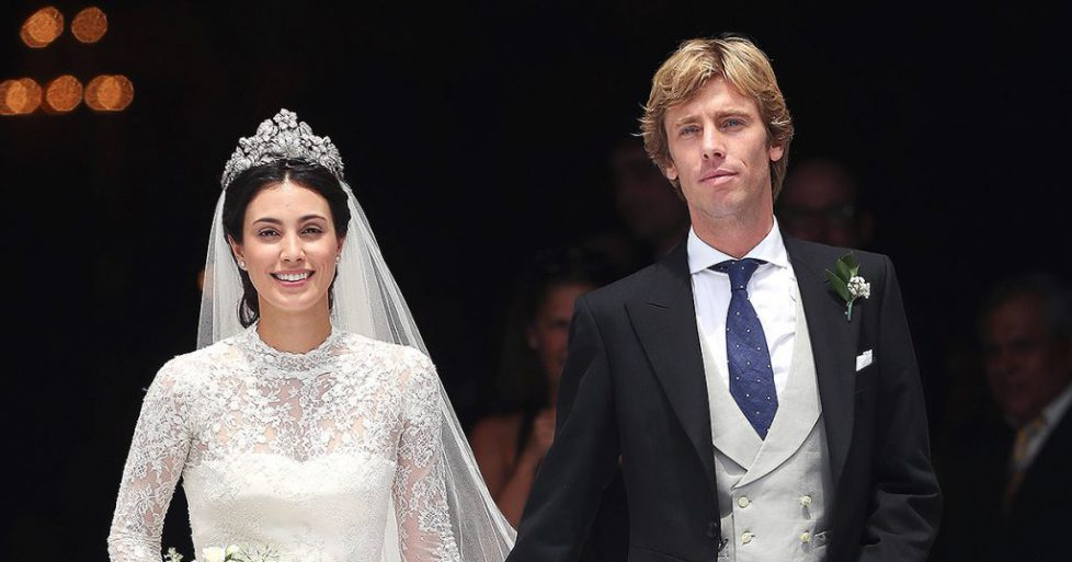 Marriage of Prince Christian of Hanover with Alessandra de Osma of Peru, Lima - 16 Mar 2018