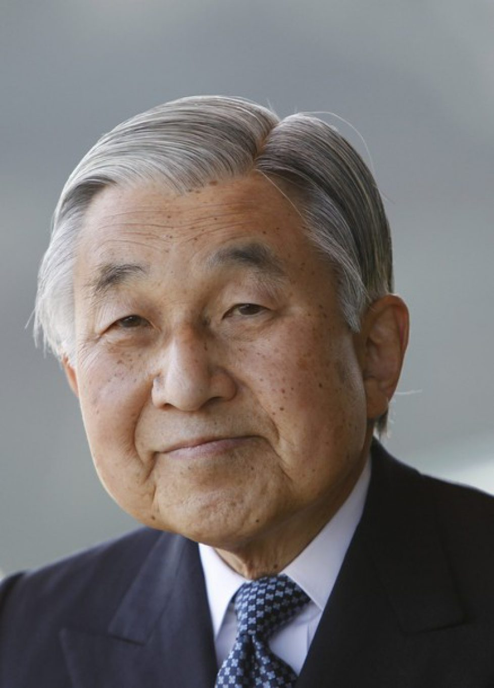 File photo of Japan's Emperor Akihito at the Imperial Palace in Tokyo