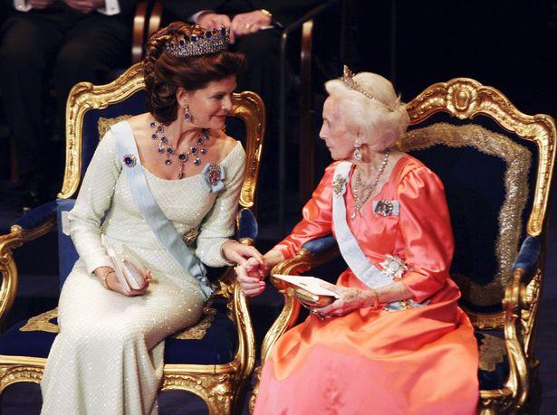 Queen Silvia, Princess Lilian in Stockholm