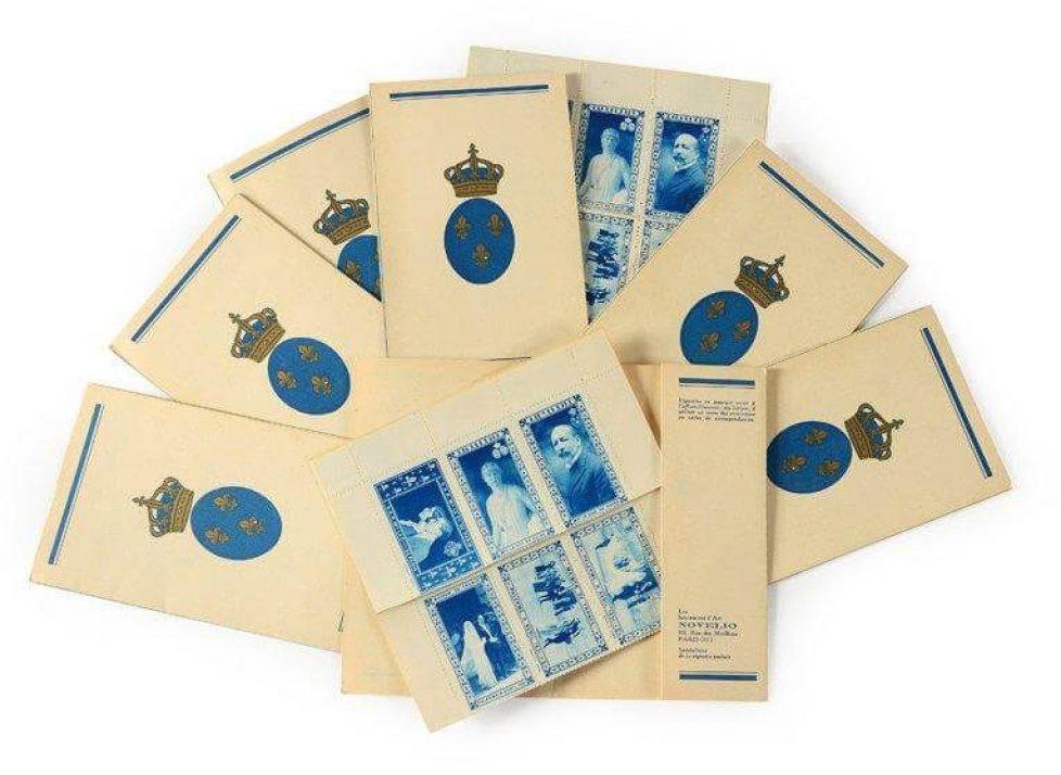 timbres-commemoratifs-du-mariage-du-comte-et-de-la-comtesse-de-Paris