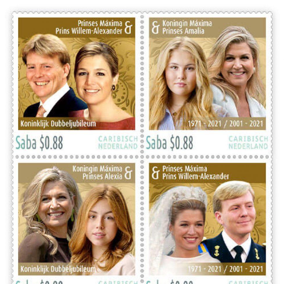 Postzegelvel-Koningin-Maxima-Dubbeljubileum-2