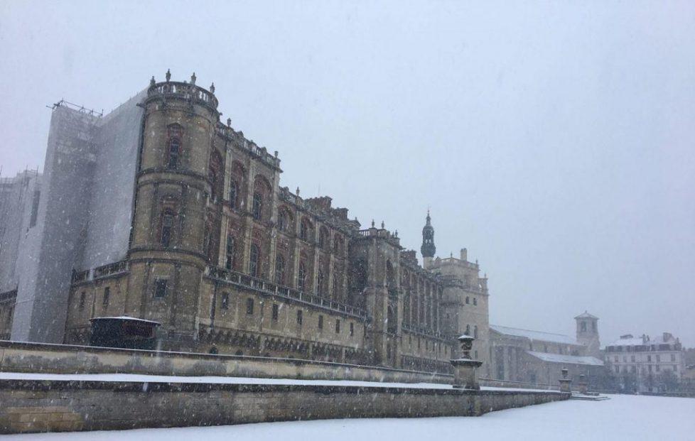 saint germain sous la neige