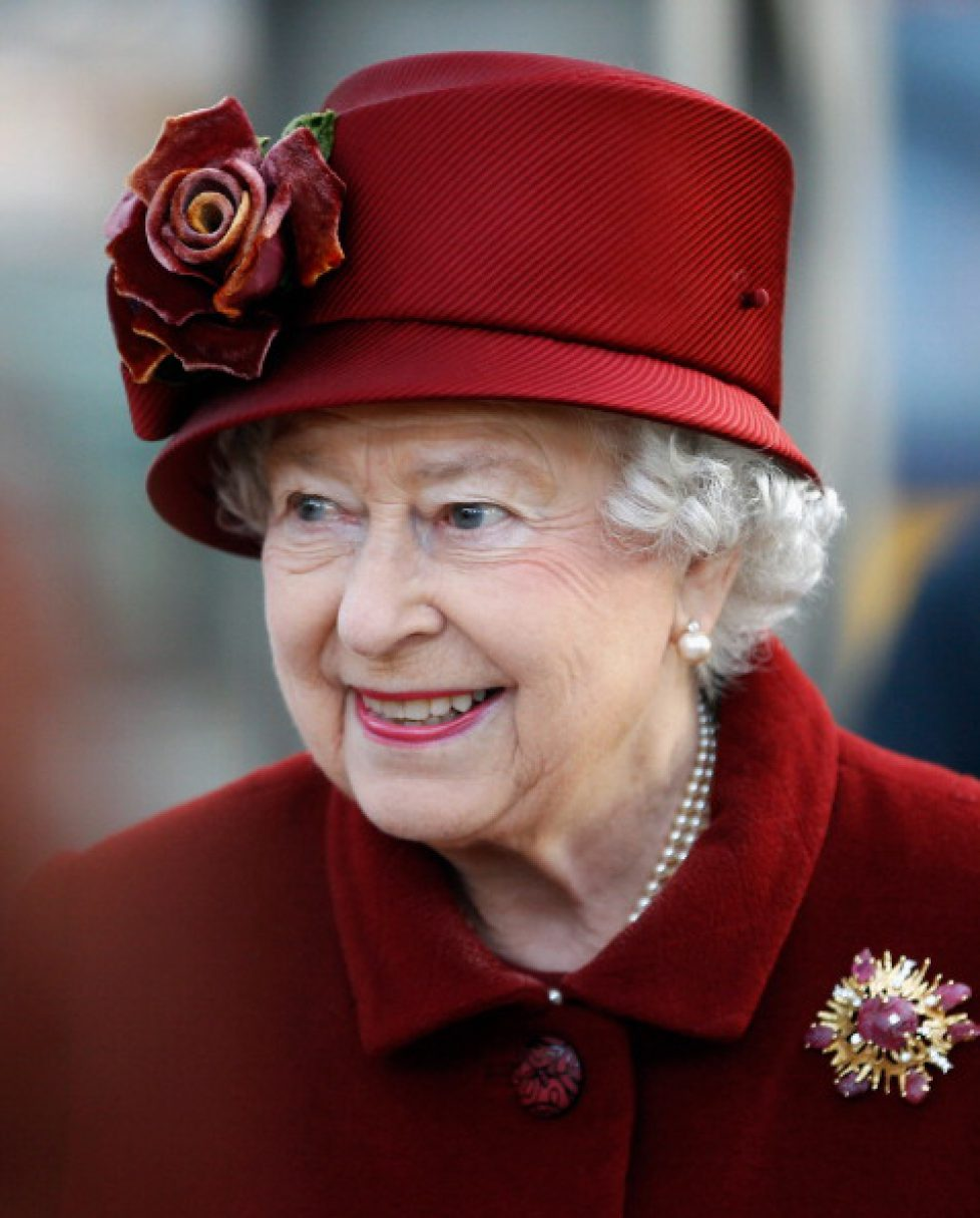 Queen Elizabeth II And The Duke Of Edinburgh Visit Liverpool
