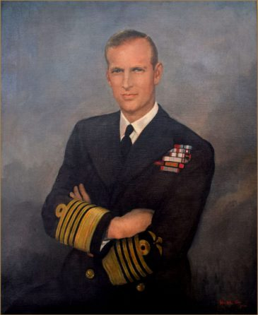 H.R.H. Prince Philip, Duke of Edinburgh b.1921 by John Wheatley 1892-1955