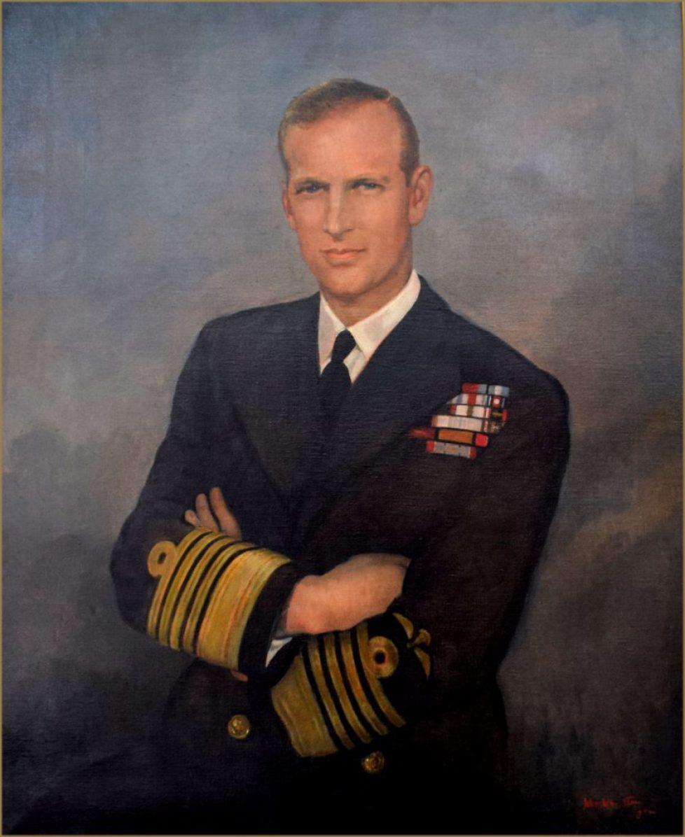 H.R.H. Prince Philip, Duke of Edinburgh b.1921 by John Wheatley 1892-1955