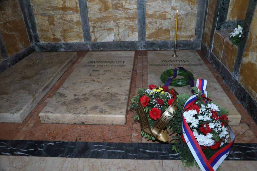 Memorial-for-Queen-Maria-at-St.-George-Church-Oplenac-scaled