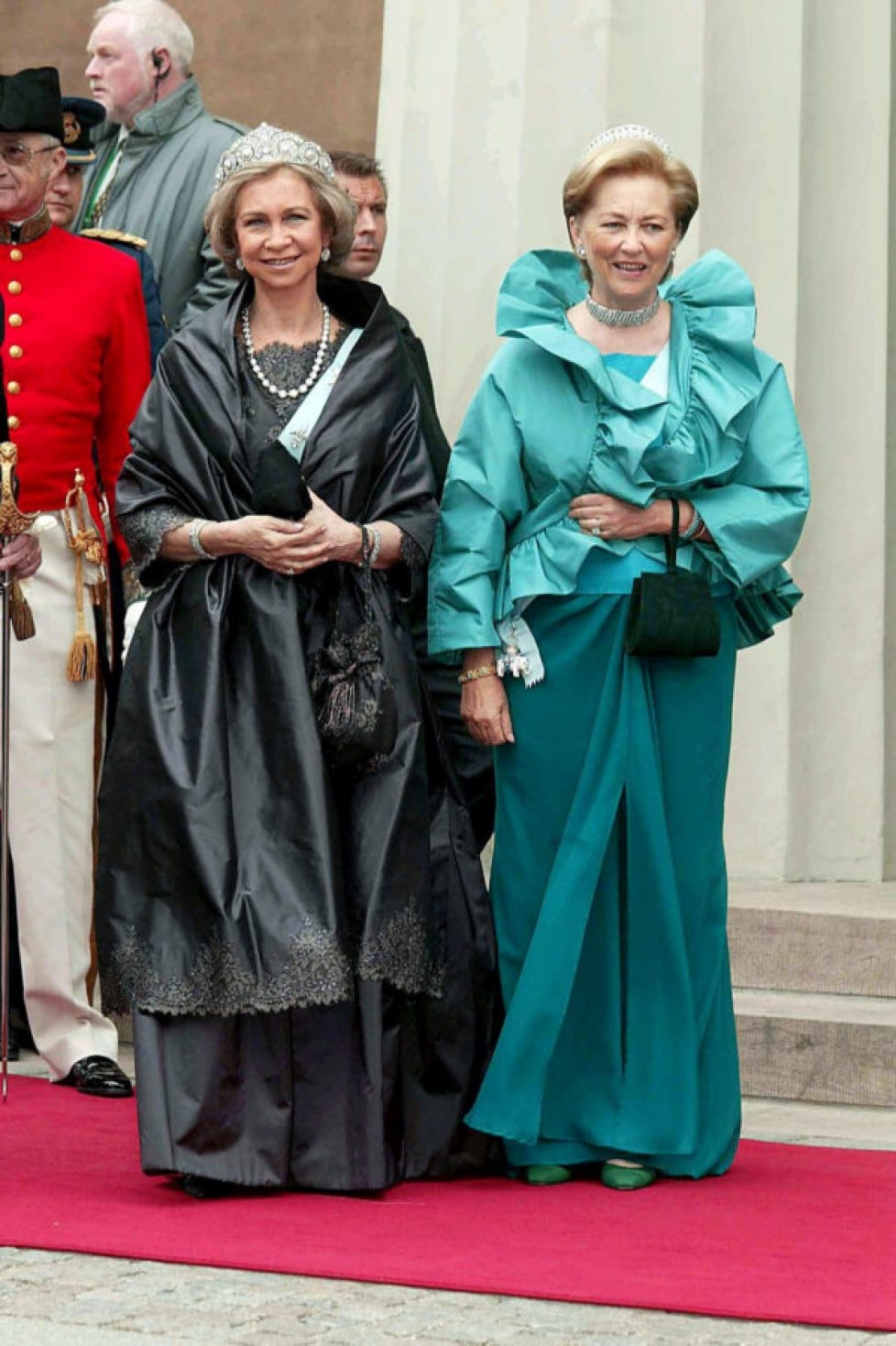 WEDDING OF CROWN PRINCE FREDERIK AND MARY DONALDSON, COPENHAGEN CATHEDRAL, DENMARK - 14 MAY 2004