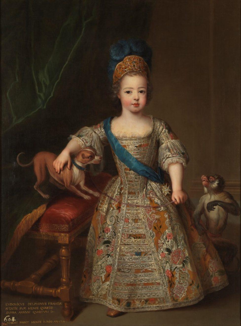 1 - Titre 1e partie Louis XV enfant