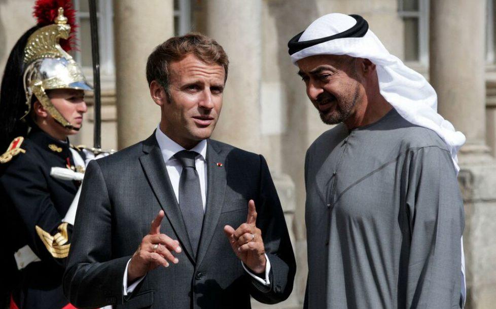 FRANCE-UAE-DIPLOMACY-POLITICS