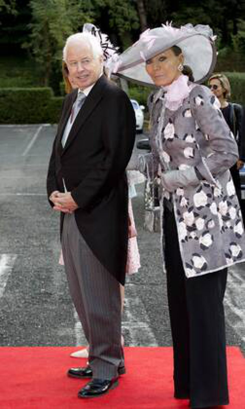 Prince Philipp and Princess Isabelle of Liechtenstein Royal wedding of HRH Crown Prince Leka II of T